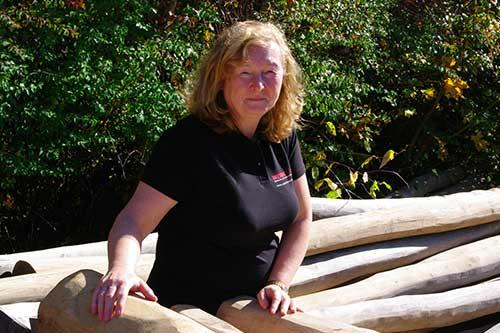 Außendienstmitarbeiterin Monika Seidel