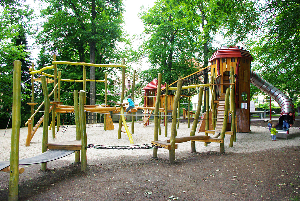 Spielplatz Burgstädt