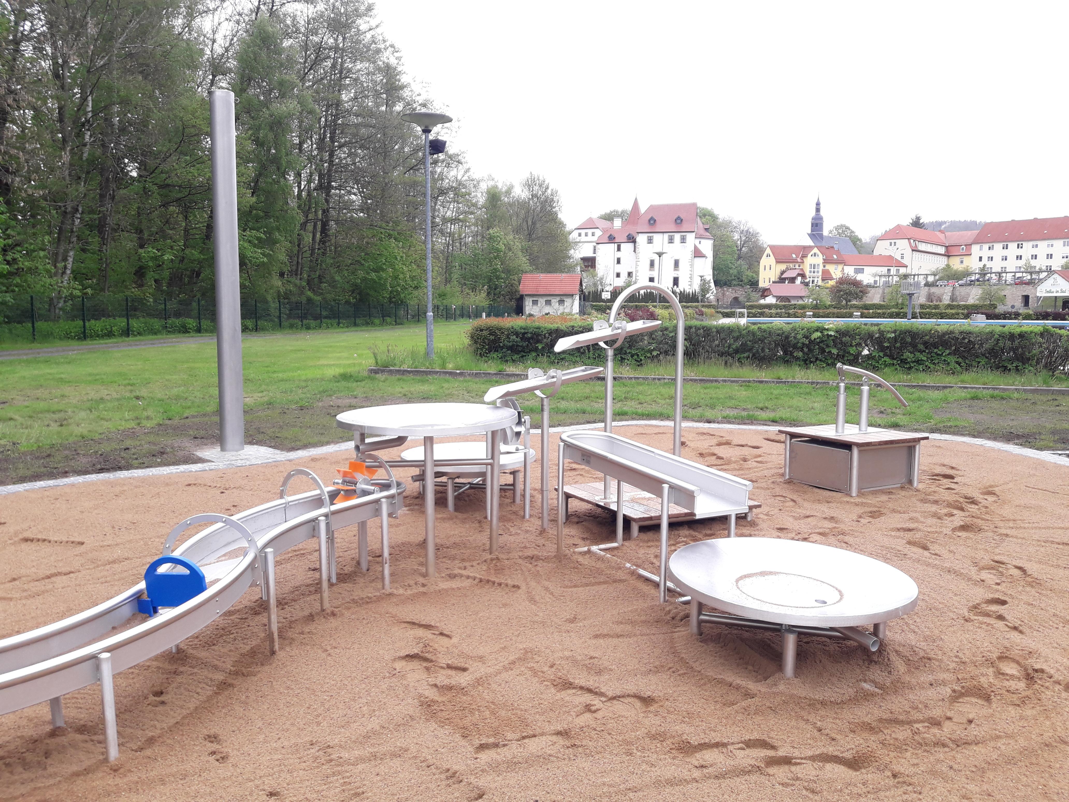 Wassermatschanlage Weißenborn